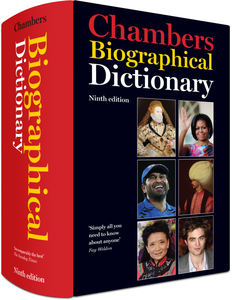 chambers chambers biographical dictionary
